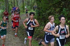 Diego at the 1 mile mark